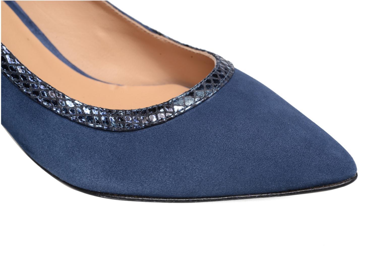 Høje hæle Made by SARENZA Rock-a-hula #8 Blå se fra venstre