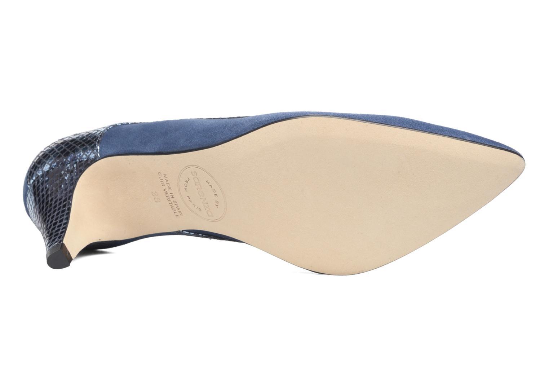 Zapatos de tacón Made by SARENZA Rock-a-hula #8 Azul vista de arriba