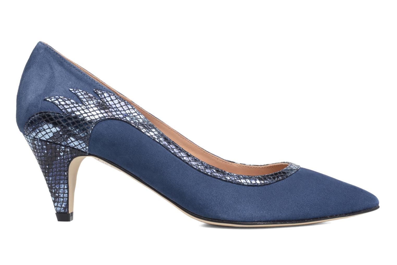 Høje hæle Made by SARENZA Rock-a-hula #8 Blå detaljeret billede af skoene