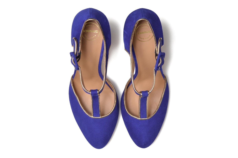 Escarpins Made by SARENZA Mexicoco #6 Bleu vue portées chaussures