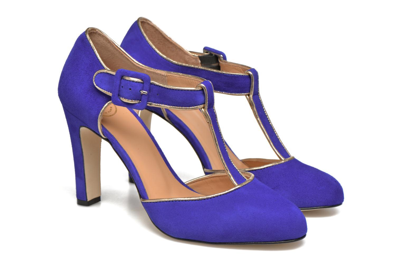 Escarpins Made by SARENZA Mexicoco #6 Bleu vue derrière