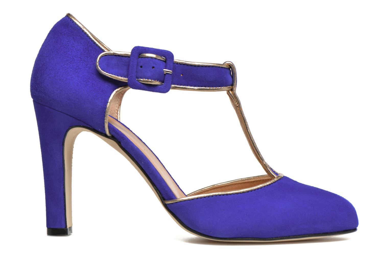 Escarpins Made by SARENZA Mexicoco #6 Bleu vue détail/paire