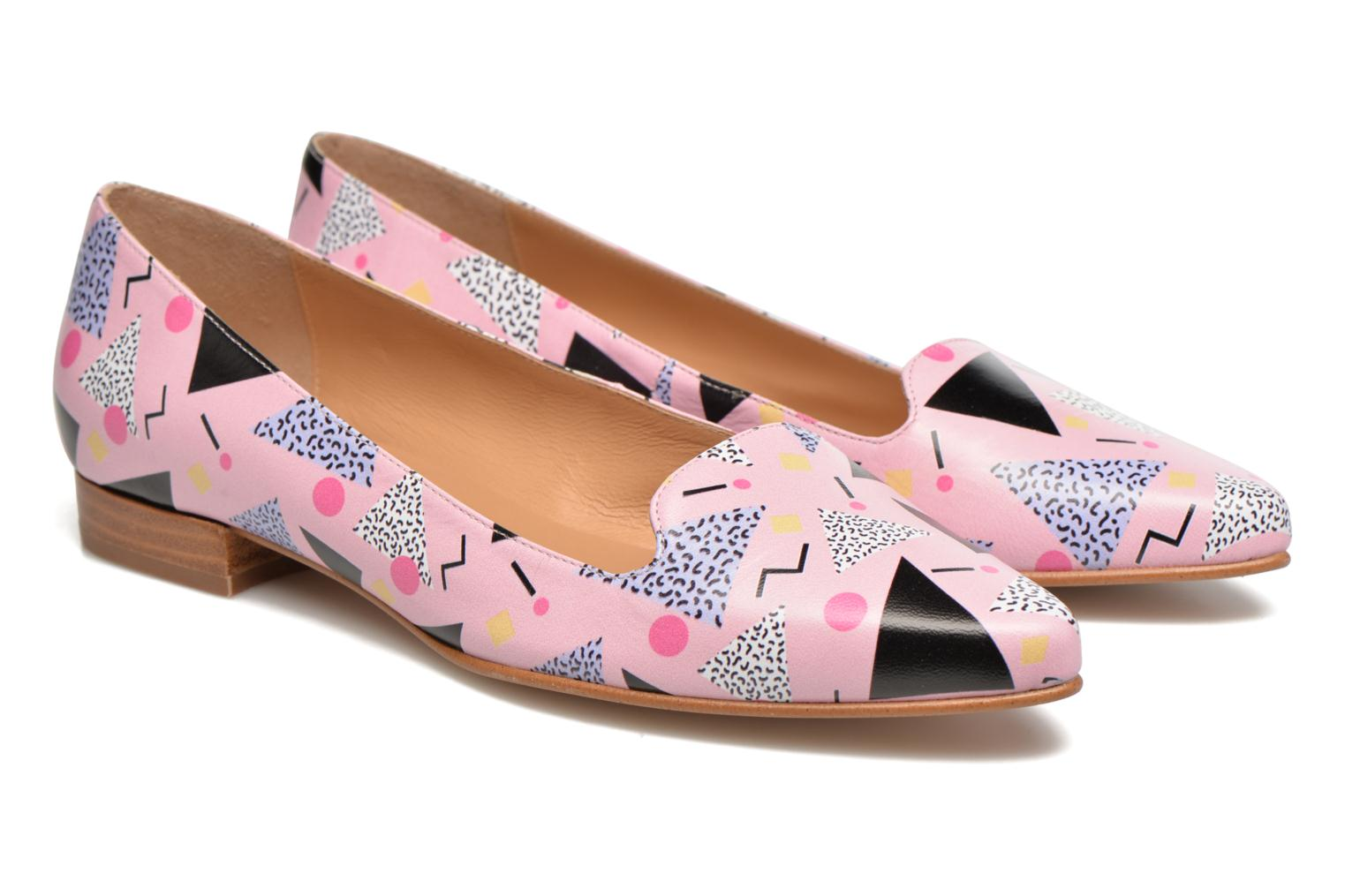 Loafers Made by SARENZA Bombay Babes Mocassins #1 Multicolor back view