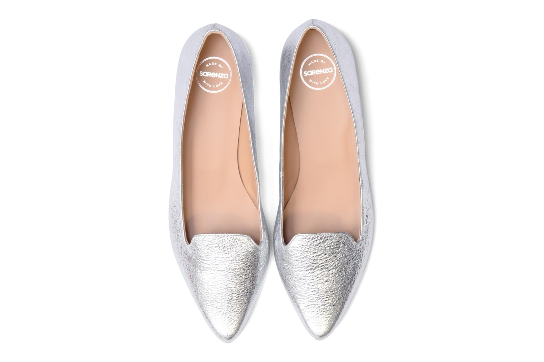 Mocassins Made by SARENZA Bombay Babes Mocassins #1 Argent vue portées chaussures