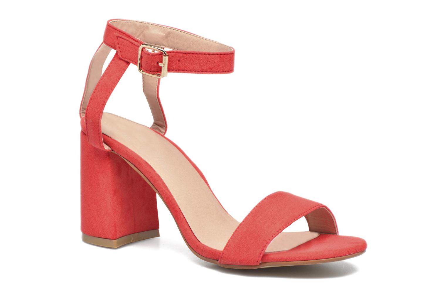 Sandals I Love Shoes BELYZE Red detailed view/ Pair view