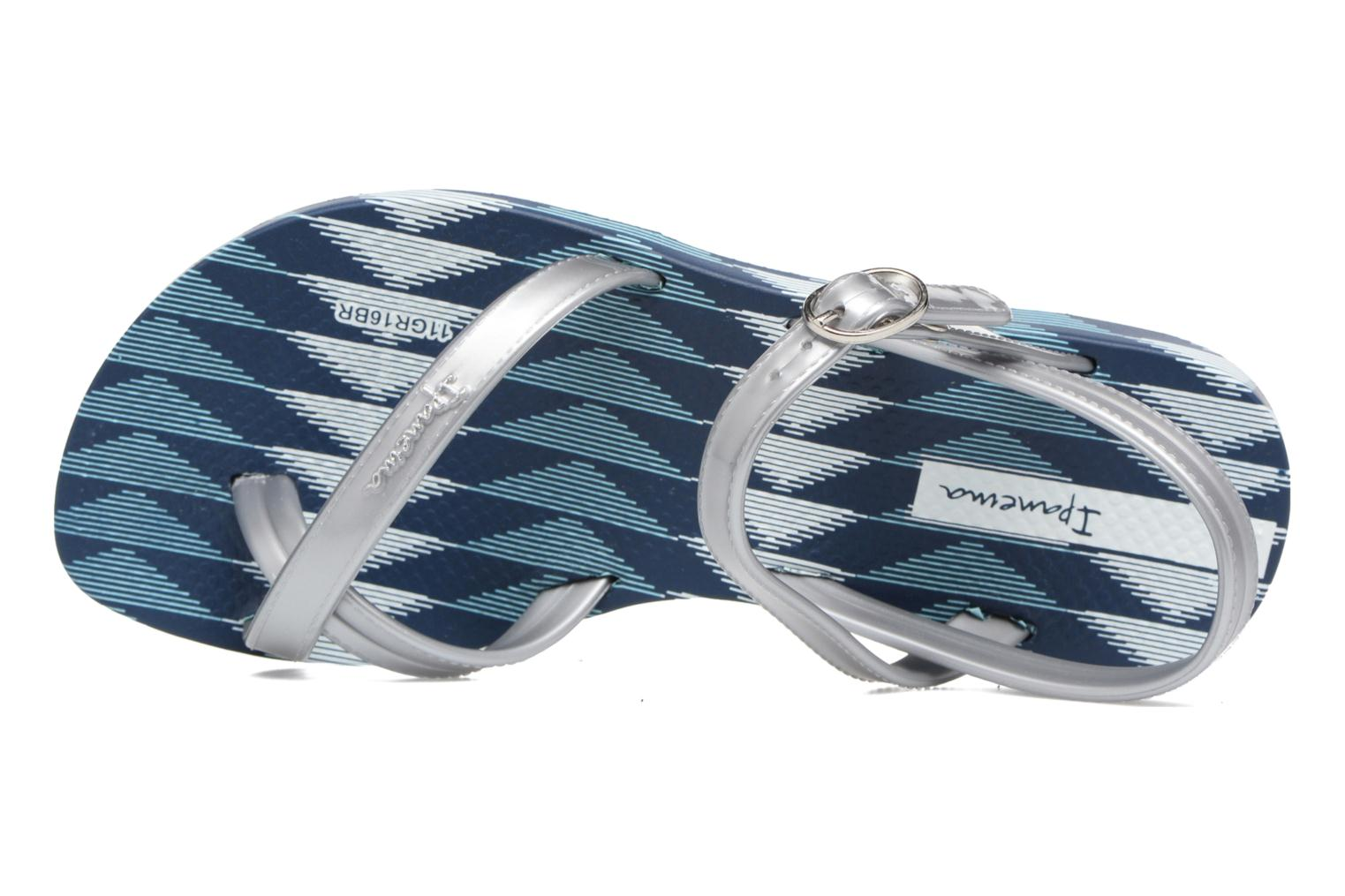 Fashion sandal IV Blue/silver