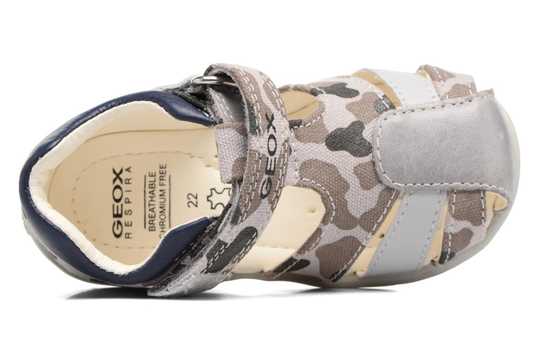 Sandales et nu-pieds Geox B Kaytan B. H B6250H Beige vue gauche