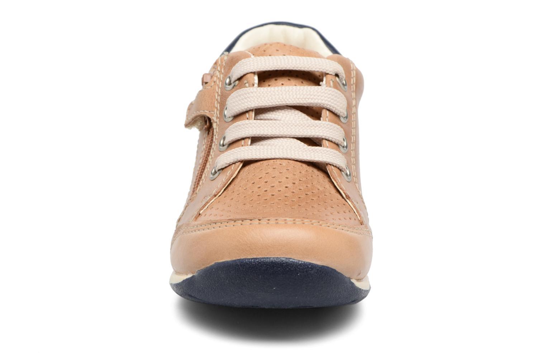 Baskets Geox B Each B. A B720BA Marron vue portées chaussures