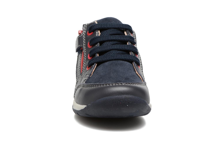 Baskets Geox B Each B. A B720BA Bleu vue portées chaussures