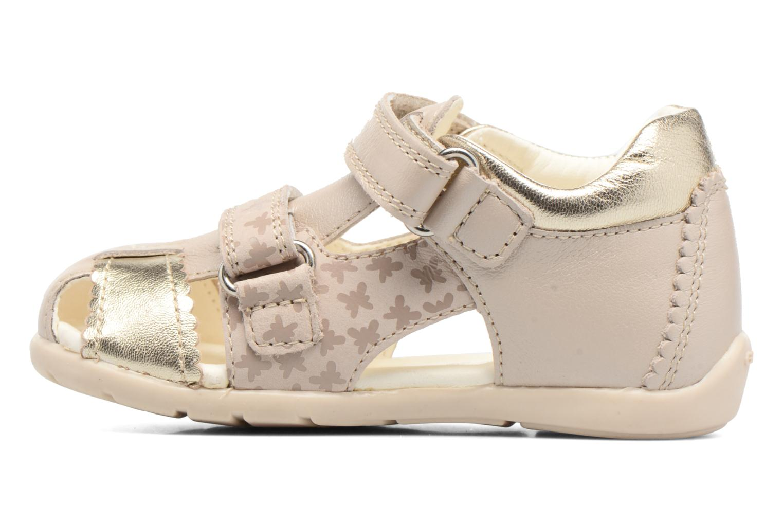 Sandales et nu-pieds Geox B Kaytan G.C B7251C Beige vue face