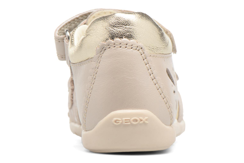 Sandales et nu-pieds Geox B Kaytan G.C B7251C Beige vue droite