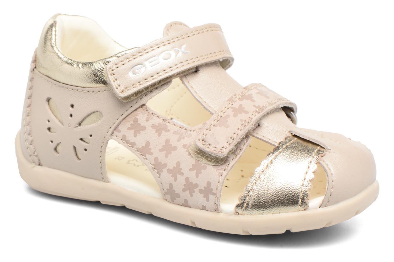 Sandales et nu-pieds Geox B Kaytan G.C B7251C Beige vue détail/paire