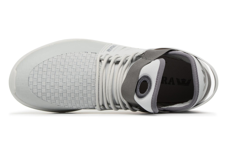 Zapatillas de deporte Supra Skytop V Gris vista lateral izquierda