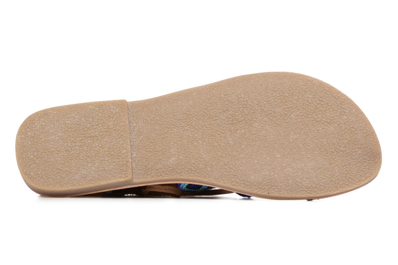 Sandali e scarpe aperte L'Atelier Tropézien Nina Azzurro immagine dall'alto