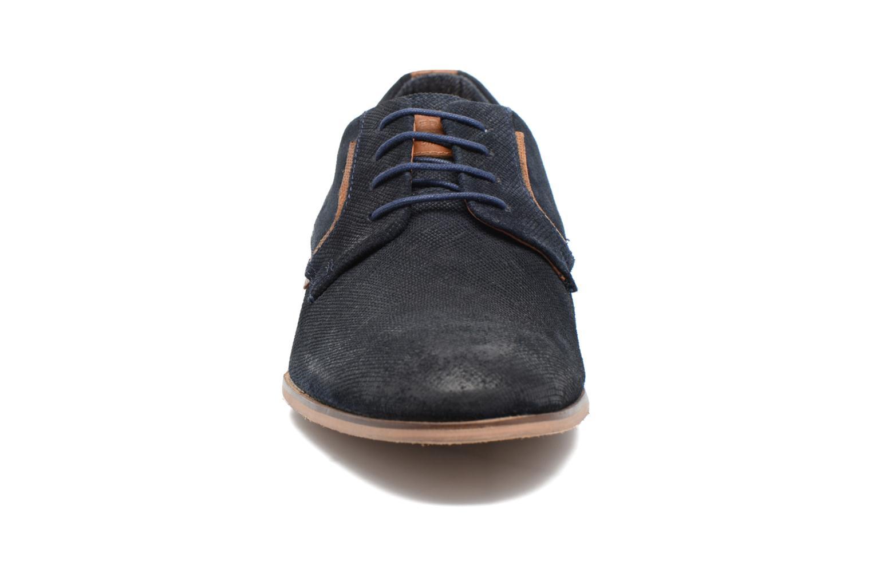 Chaussures à lacets Redskins Nesko Bleu vue portées chaussures