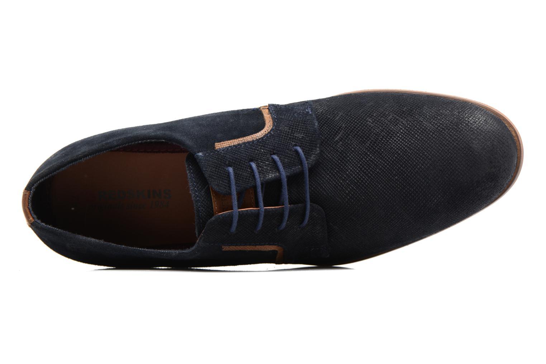 Chaussures à lacets Redskins Nesko Bleu vue gauche
