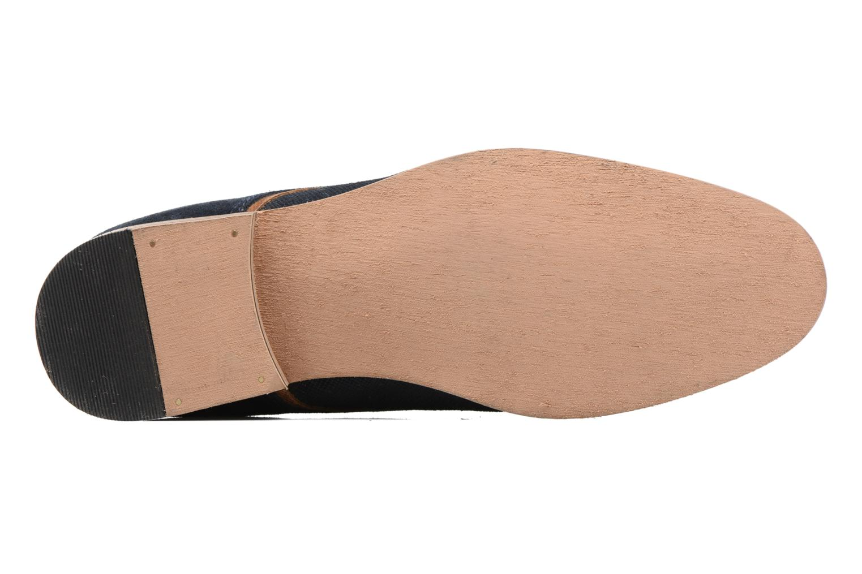 Chaussures à lacets Redskins Nesko Bleu vue haut