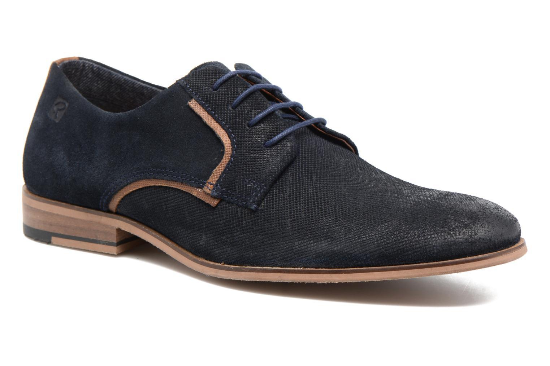 Chaussures à lacets Redskins Nesko Bleu vue détail/paire