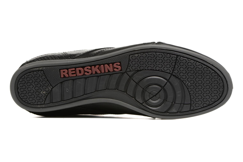 Baskets Redskins Witig Noir vue haut