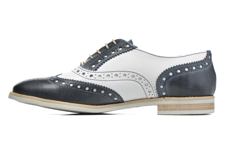 Chaussures à lacets Georgia Rose Ninish Bleu vue face