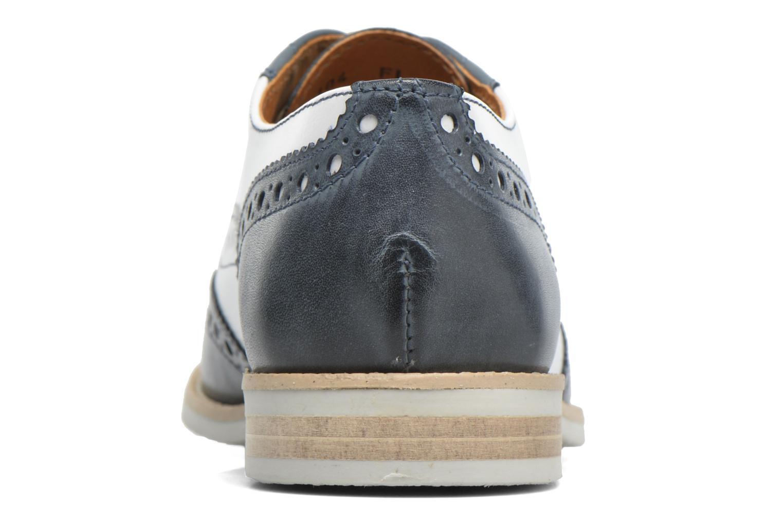 Chaussures à lacets Georgia Rose Ninish Bleu vue droite