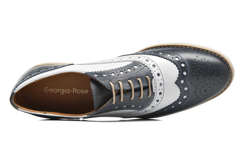 Chaussures à lacets Georgia Rose Ninish Bleu vue gauche