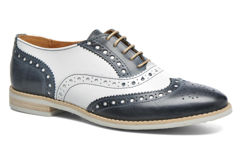 Chaussures à lacets Georgia Rose Ninish Bleu vue détail/paire