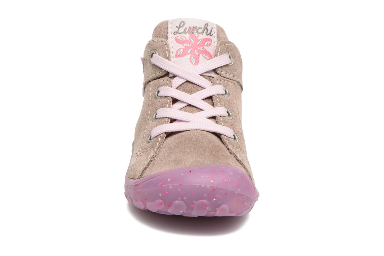 Chaussures à lacets Lurchi by Salamander Goldy Suede Beige vue portées chaussures