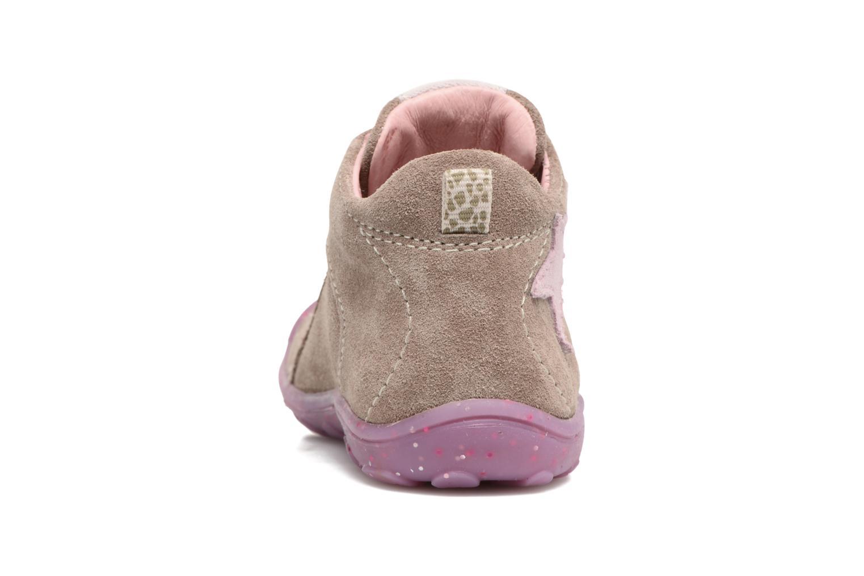 Chaussures à lacets Lurchi by Salamander Goldy Suede Beige vue droite