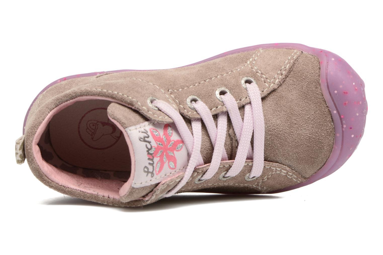 Chaussures à lacets Lurchi by Salamander Goldy Suede Beige vue gauche