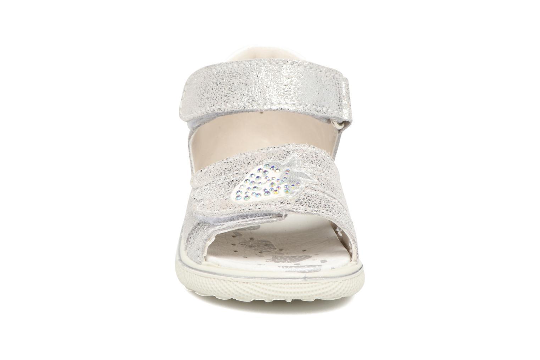 Sandales et nu-pieds Lurchi by Salamander Tinki Argent vue portées chaussures