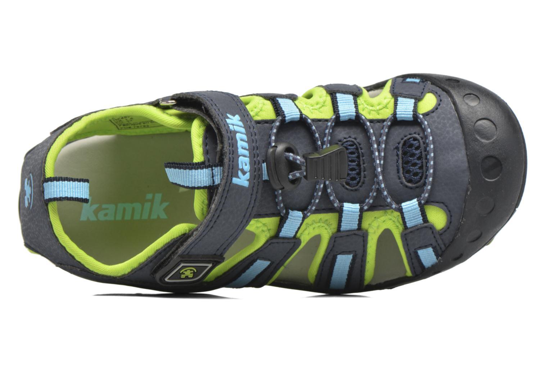 Sandales et nu-pieds Kamik Crab Bleu vue gauche