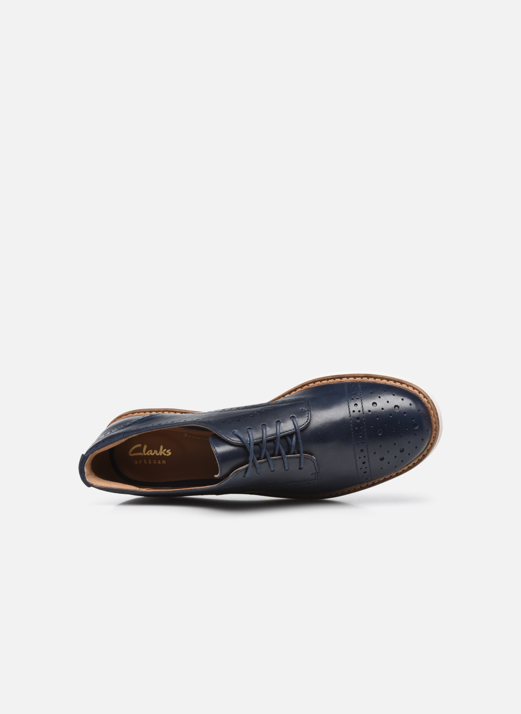 Glick Shine Navy leather