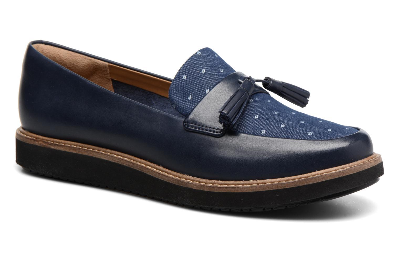 Glick Castine Navy leather