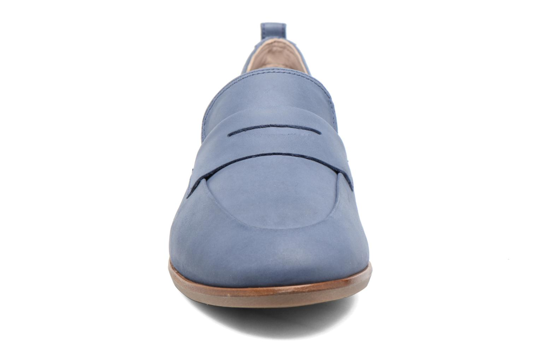 Mocassins Clarks Alania Belle Bleu vue portées chaussures