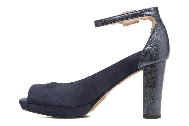 High heels Clarks Kendra Ella Black front view