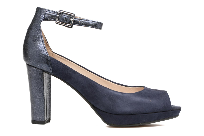 High heels Clarks Kendra Ella Black back view