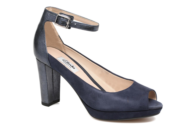 High heels Clarks Kendra Ella Black detailed view/ Pair view