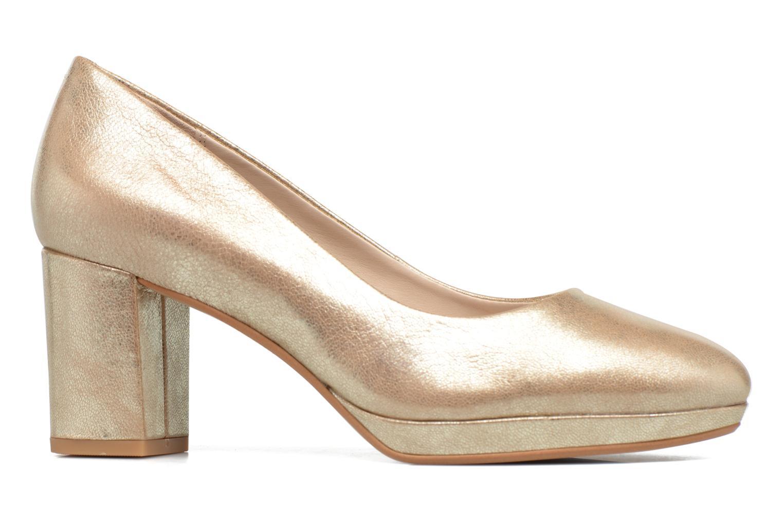 Zapatos de tacón Clarks Kelda Hope Oro y bronce vistra trasera