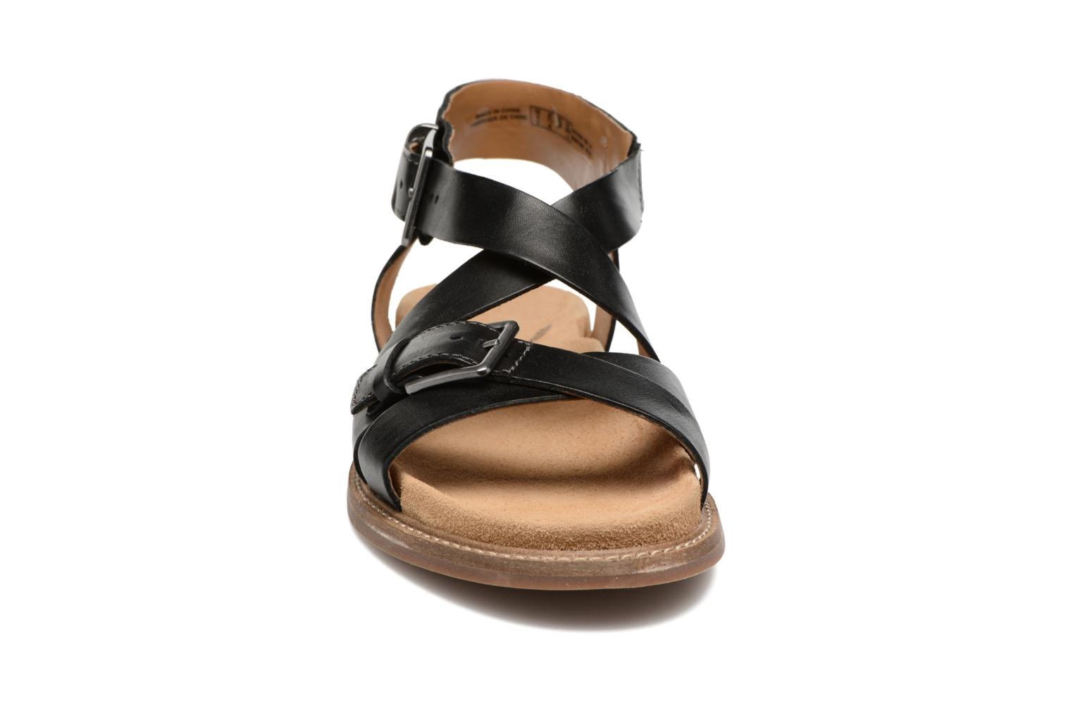 Corsio Bambi Black leather