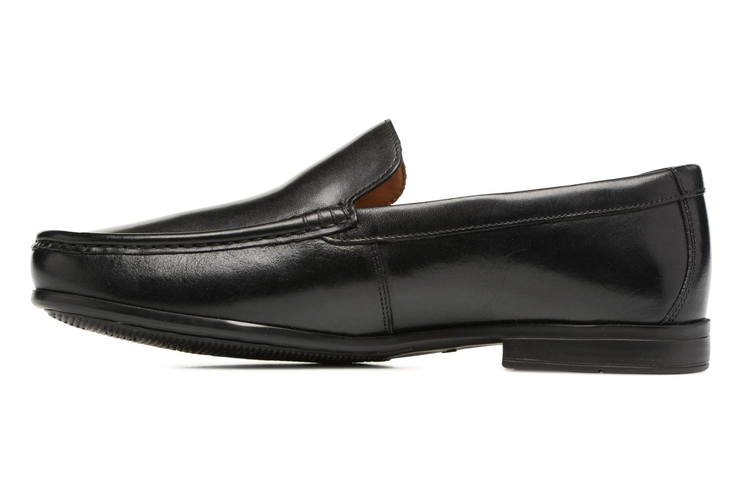Claude Plain Black leather