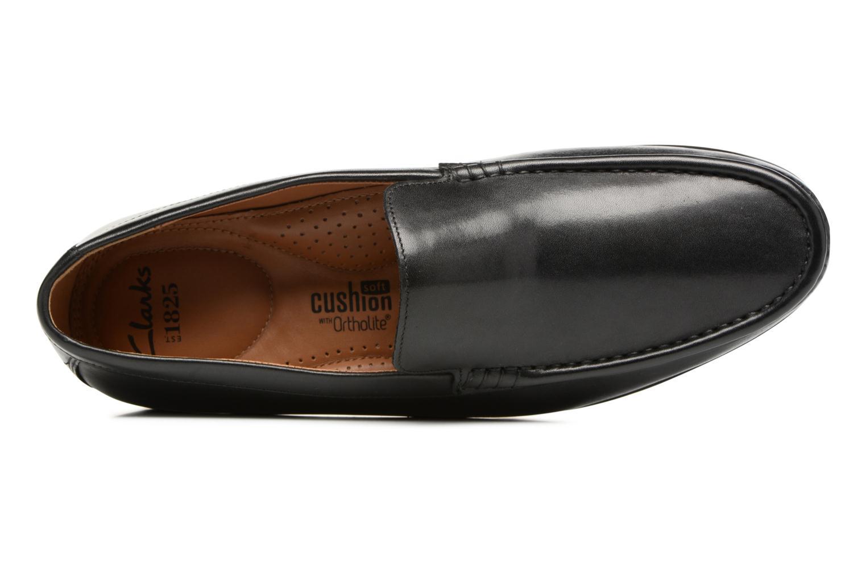 Claude Plain Black leather