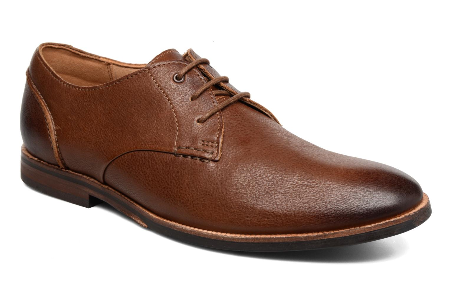 Clarks Brown Leather Marron sWAx6h
