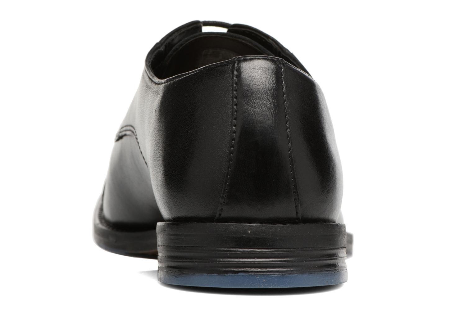 Lace-up shoes Clarks Prangley Cap Black view from the right