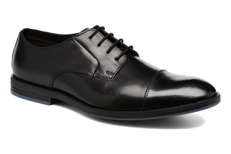 Prangley Cap Black leather