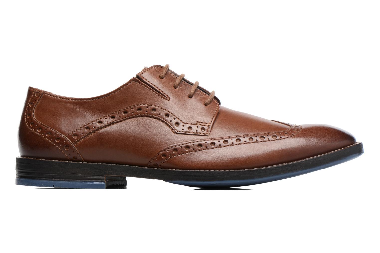 Chaussures à lacets Clarks Prangley Limit Marron vue derrière