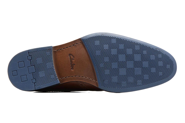 Chaussures à lacets Clarks Prangley Limit Marron vue haut