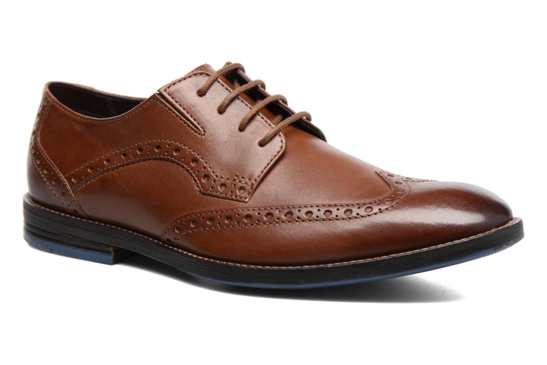 Chaussures à lacets Clarks Prangley Limit Marron vue détail/paire