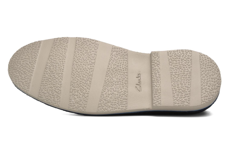Chaussures à lacets Clarks Jareth Walk Bleu vue haut