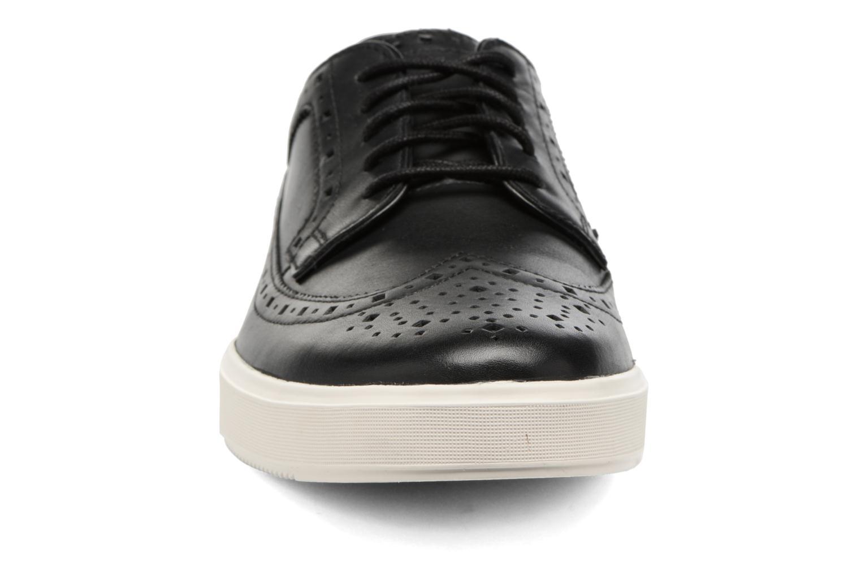 Chaussures à lacets Clarks Calderon Limit Noir vue portées chaussures